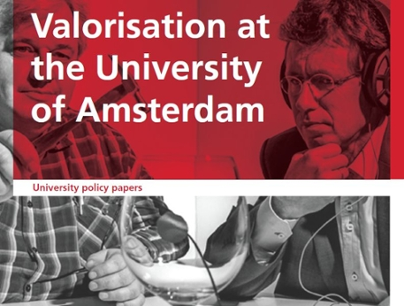 Valorisation at the University of Amsterdam