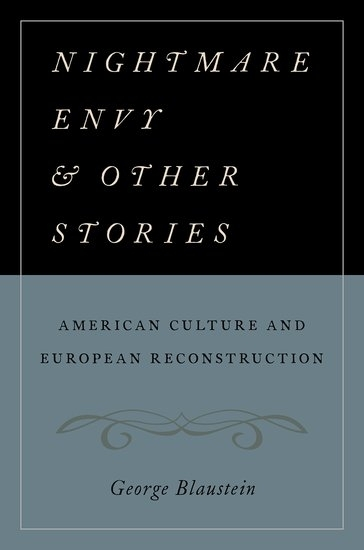 Boekomslag Nightmare Envy and Other Stories: American Culture and European Reconstruction
