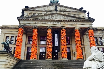 Lifejackets at the Konzerthaus Berlin