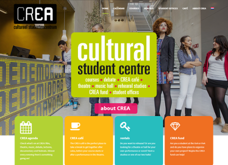 CREA cultural student centre University of Amsterdam