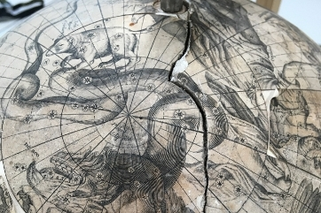 Celestial Globe before restoration