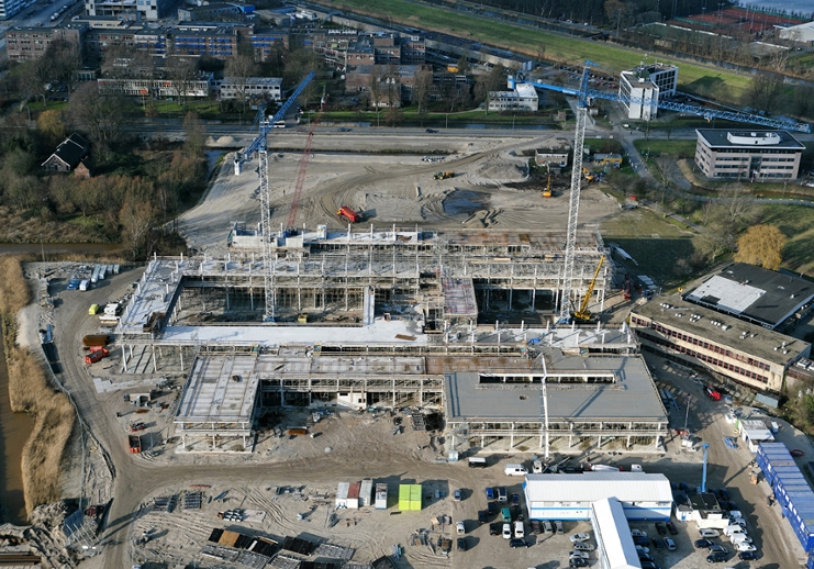 Science Park 904 under construction in 2008