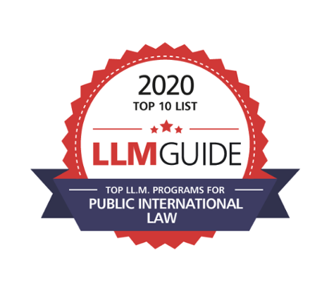 Top LLM programs Public International Law