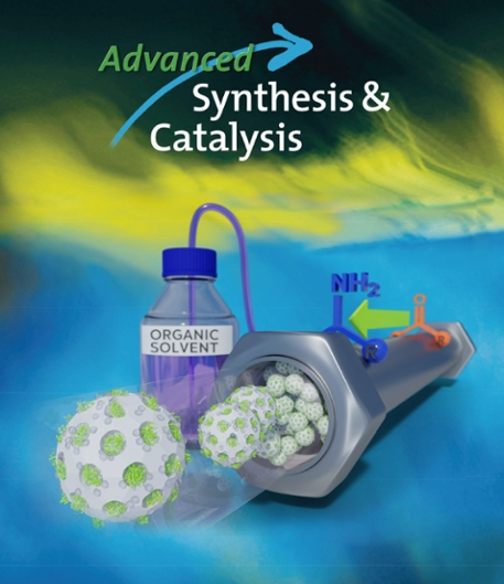 Front Cover of Advanced Synthesis & Catalysis
